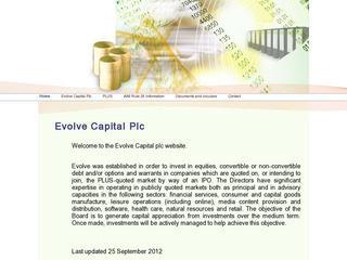 Evolve Capital PLC